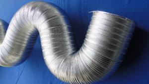Semi rigid aluminium duct