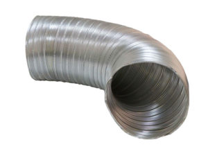 Semi rigid aluminium duct